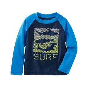 Kid Boy OshKosh Shark Surf Rashguard | OshKosh.com
