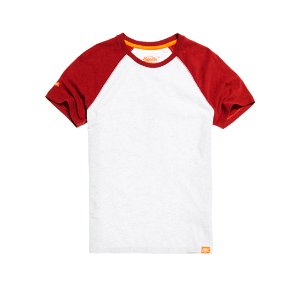 Superdry Orange Label Short Sleeve Baseball T-shirt - Men's T Shirts