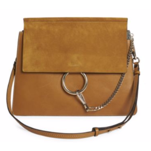 Chlo� - Faye Medium Suede & Leather Shoulder Bag - saks.com