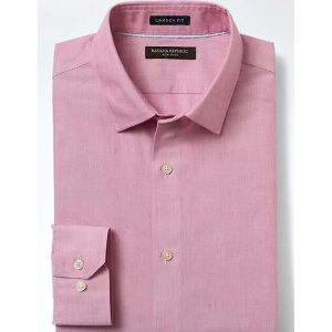 Camden-Fit Non-Iron Solid Shirt