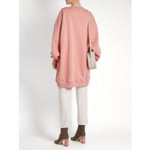 Yanin oversized cotton-jersey sweatshirt | Acne Studios