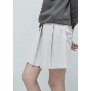 Pleated flecked skirt - Women | OUTLET USA