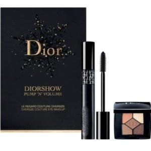 $29.5 + 免邮 +至少3个小样Dior 浓密全翘睫毛膏+迷你5色眼影超值套装促销