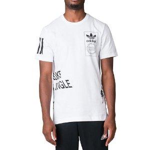Adidas STRTOFFPLACED TEE - White | Jimmy Jazz - AZ1071-100