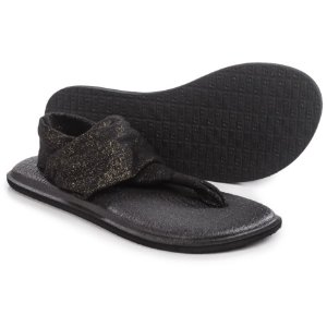 Sanuk Yoga Sling 2 Metallic Sandals