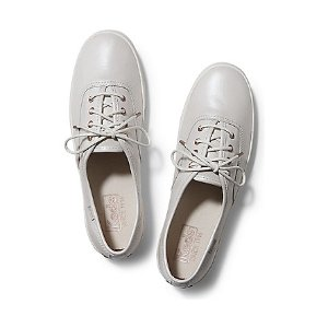 Women - CHAMPION PEARL LEATHER - Cream | Keds