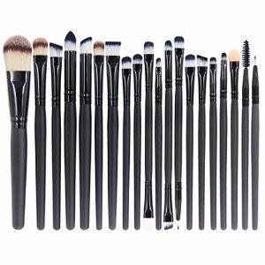 $6.79 Lightning deal EmaxDesign 20 Pieces Makeup Brush Set