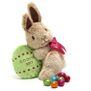 2017复活节限量版兔纸玩偶+巧克力