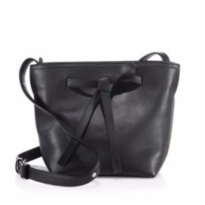 Maison Margiela - Mini Leather Drawstring Bucket Bag - saksoff5th.com
