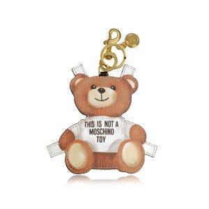 Moschino Teddy Bear Key Charm