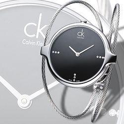 $75 ( Orig $420 )Calvin Klein Women's Agile Watch Model: K2Z2M11S