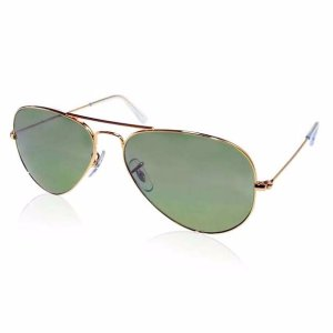 $79.99Extra $20 off RAY BAN Aviator 58mm Classic Green Sunglasses Item No. RB3025 L0205 58-14