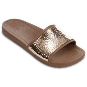 Women's Crocs Sloane Embellished Slides