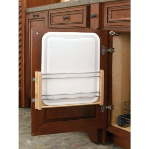 Rev-A-Shelf 16.438 in. H x 11.313 in. W x 2 in. D Medium Cabinet Door Mount Polymer Cutting Board-4DMCB-15P - The Home Depot