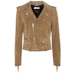 Saint Laurent - Suede jacket | mytheresa.com