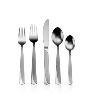 ONEIDA MADELINE 74 Piece Casual Flatware Set, Service for 12