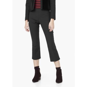 Straight-cut crop trousers - Women | OUTLET USA
