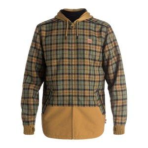 Men's Backwoods Flannel Riding Shacket 888327535289   DC Shoes