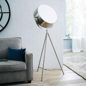 Spotlight Metal Tripod Floor Lamp | west elm