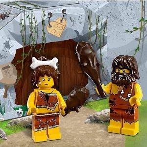满额送封面持棒穴居人偶套装LEGO®官网 8月购物享好礼,超多Technic系列上新