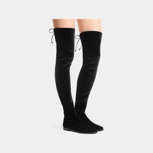 Stuart Weitzman LeggyLady Thigh-High Boot Over-the-Knee Boots | ELEVTD Free Shipping & Returns