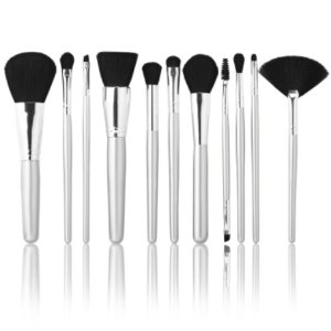 $15Silver 11 Piece Brush Collection