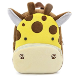 Children Toddler Kids Pre School Backpack Baby Girls Boys Travel Lunch Bags, Cute Giraffe Design for 2 - 4 Years Old