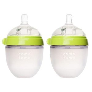 Comotomo Baby Bottle Green | Walgreens