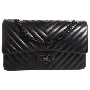 (5) black Plain Leather CHANEL Handbag - Vestiaire Collective