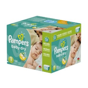 pampers 帮宝适纸尿布(满$35立减$10)