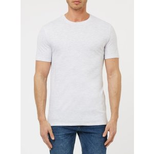 Gray Marl Slim Fit T-Shirt - Men's T-Shirts and Tanks 2 for $16 - Clearance - TOPMAN USA