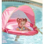 SwimSchool Sunshade Fabric BabyBoat in Pink by Aqua Leisure