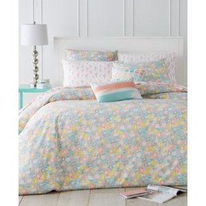 Whim by Martha Stewart Collection Flower Crown 5 Piece Comforter Sets, Created for Macy's