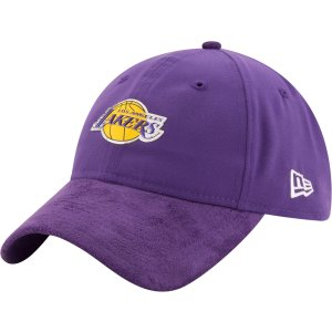 New Era Men's Los Angeles Lakers On-Court 9Twenty Adjustable Hat