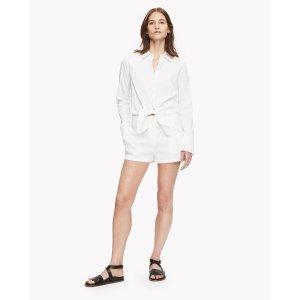 Tie-Waist Short Jumpsuit 连体裤