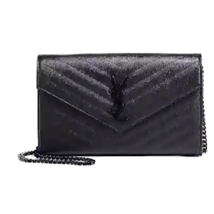 Saint Laurent - Monogram Quilted Leather Chain Wallet - saks.com
