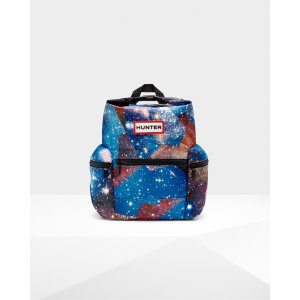 Hunter Blue Space Camo Mini Backpack | Official Hunter Boots Store