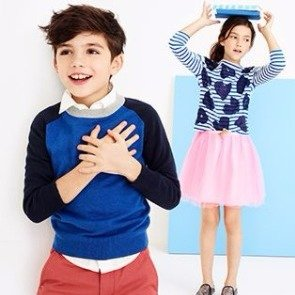 Extra 35-40% Off + Free ShippingKids Apparel One Day Sale @ J.Crew Factory
