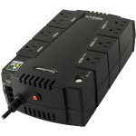 CyberPower 8-Outlet 424VA/255W Uninterrupted Power Supply