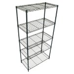 Adjustable 5-Tier Wire Shelving Uni