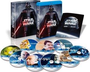 Star Wars: The Complete Saga (Episodes I-VI) [Blu-ray]