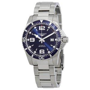 Longines HydroConquest Automatic Blue Dial Men's Watch L37424966 - Conquest - Longines - Watches - Jomashop