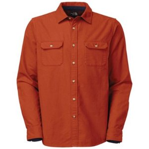 The North Face                 Men's L/S Kershaw Moleskin Shirt