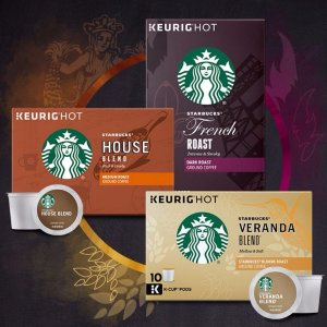 FREE!Starbucks K-Cup Tasting Flight Sample Pack