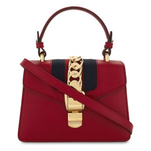 GUCCI Sylvie leather cross-body bag