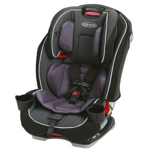 $124.66 史低价Graco SlimFit 全合一儿童双向汽车安全座椅 紫色