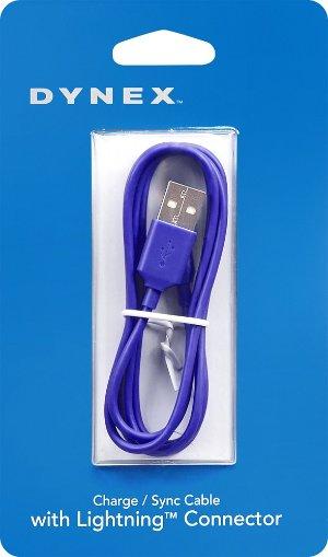$3Dynex Apple MFI Lightning Cable