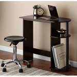 Mainstays Computer Desk with Side Storage, Espresso