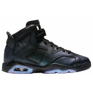 Jordan Retro 6 - Boys' Grade School - Basketball - Shoes - Black/Black