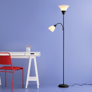 Torchiere Floor Lamp with Task Light - Room Essentials